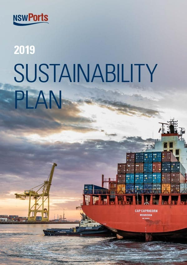 NSW Ports Sustainability Plan  (2015-2018)