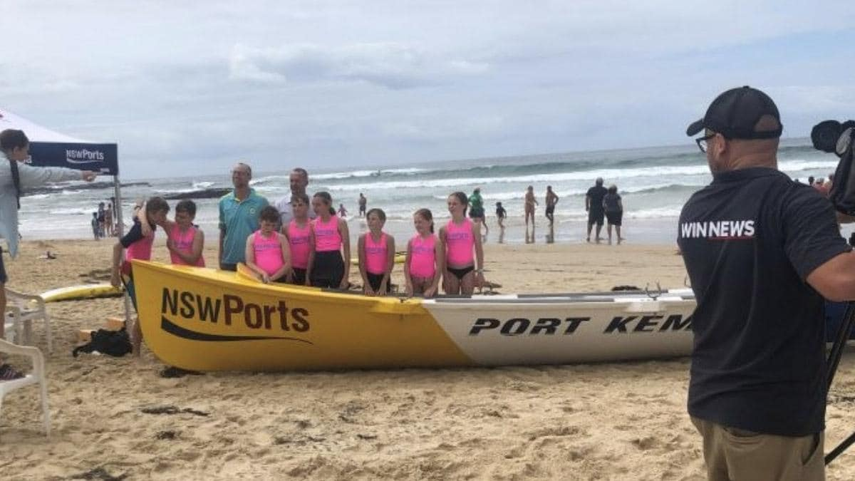 NSW Ports cements 20 year partnership with local surf life savers in Port Kembla