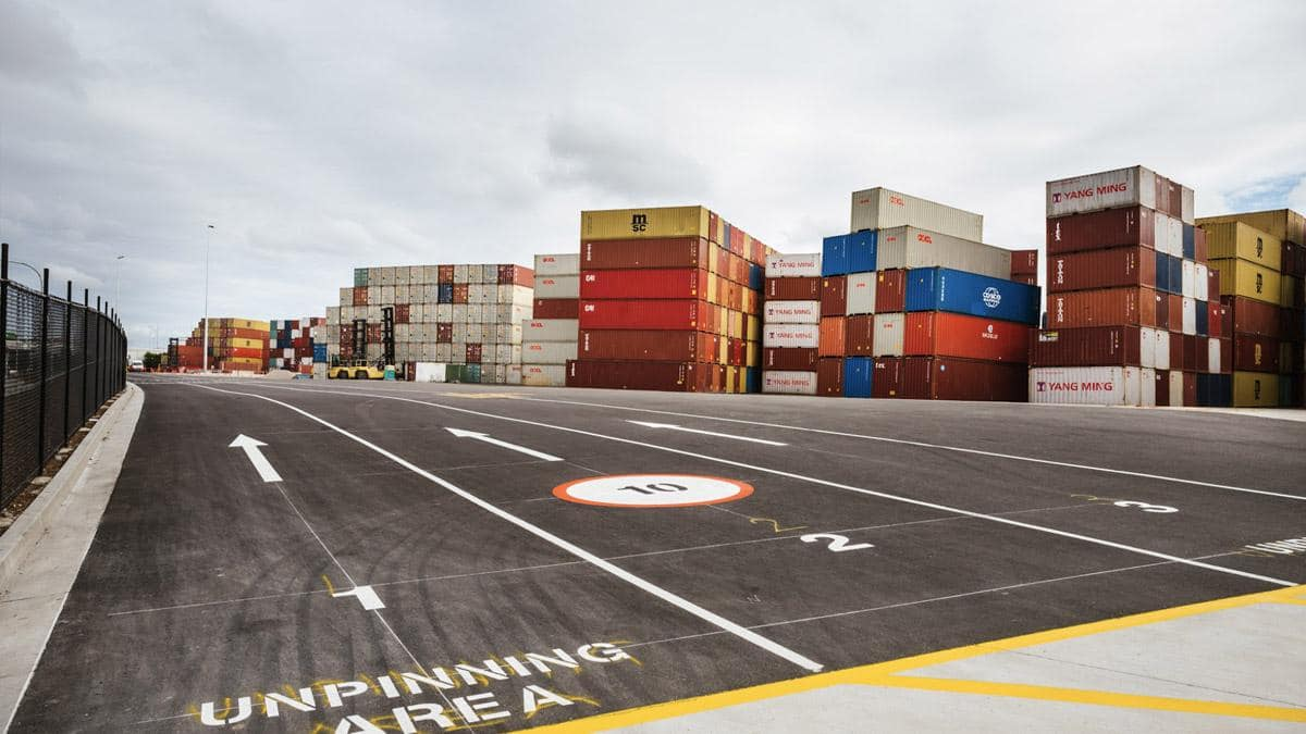 New empty container park at Port Botany creates supply chain efficiencies